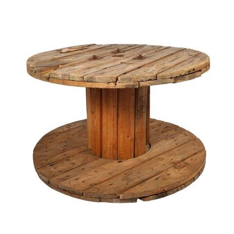 Furniture Wooden Cable Wheel Table