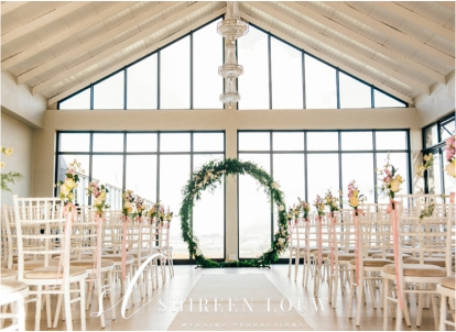 Giant Wreath Backdrop