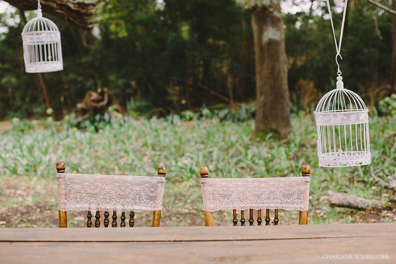 Hanging Bird Cage Wedding Decor