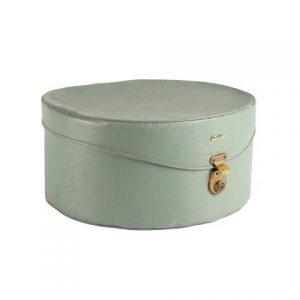 Hat Box Ginny Green Roundx