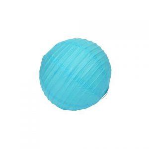 Lantern Paper Aqua Blue X Small cm