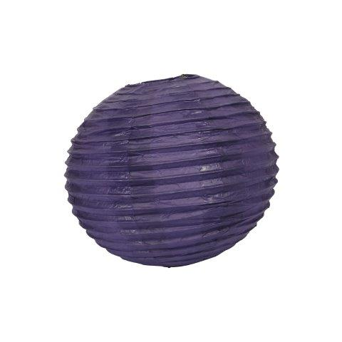 Lantern Paper Dark Purple Medium cm