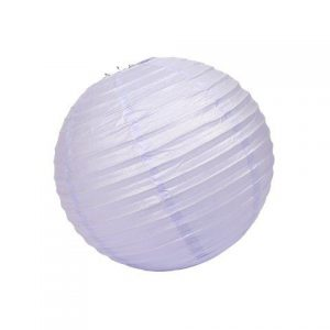 Lantern Paper Light Purple Large cm