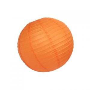 Lantern Paper Orange Large cm