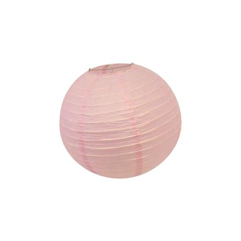 Lantern Paper Pink Small Light cm