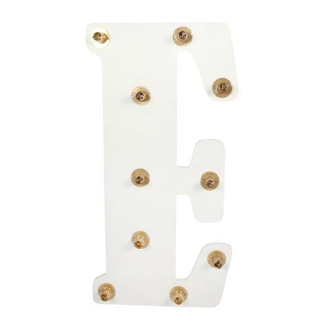 Light Letters E cm