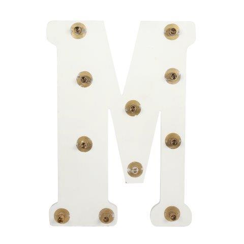 Light Letters M cm