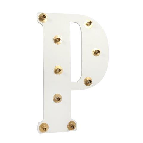 Light Letters P cm