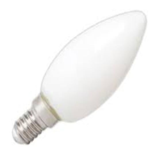 Lights Bulb Candle W