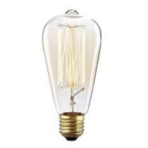 Lights Bulb Edison Tear Drop