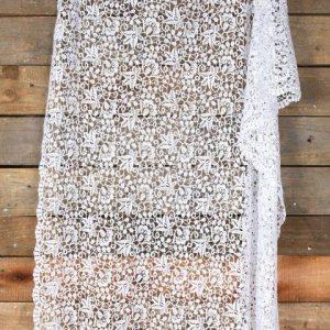 Linen Crochet Runner Lace m