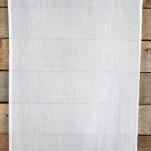 Linen Runner White Soft Polka Dot mx