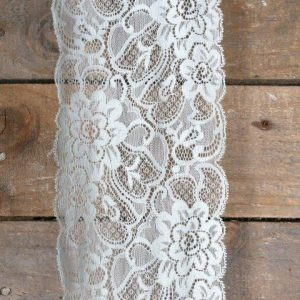 Linen Tieback Lace Mint Green mx