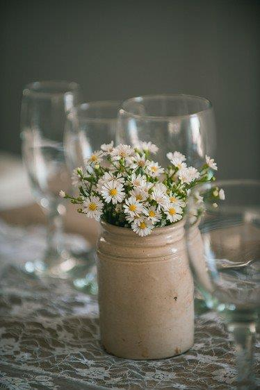 MichaelMas Daisy Floral Wedding Decor