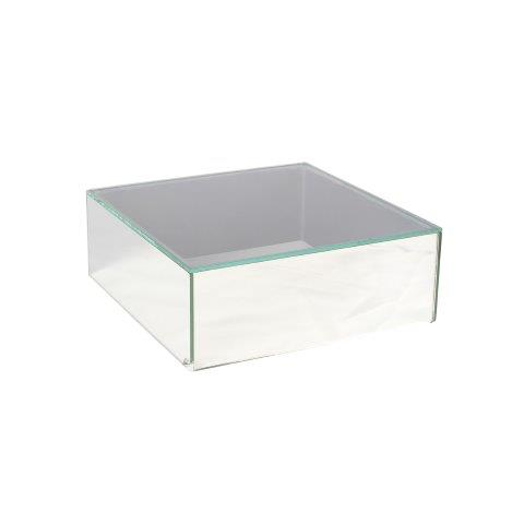 Mirror Box with Glass Top