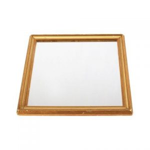 Mirror Gold Frame Small