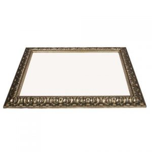 Mirror Silver Ornate X large Inside