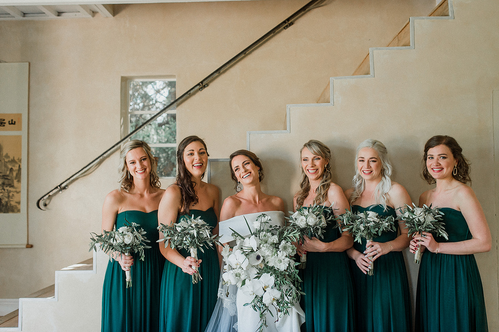 My Pretty Vintage Beautiful Bride and her Bridesmaids