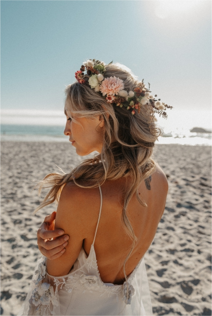 My Pretty Vintage Boho Beach Floral Headpiece