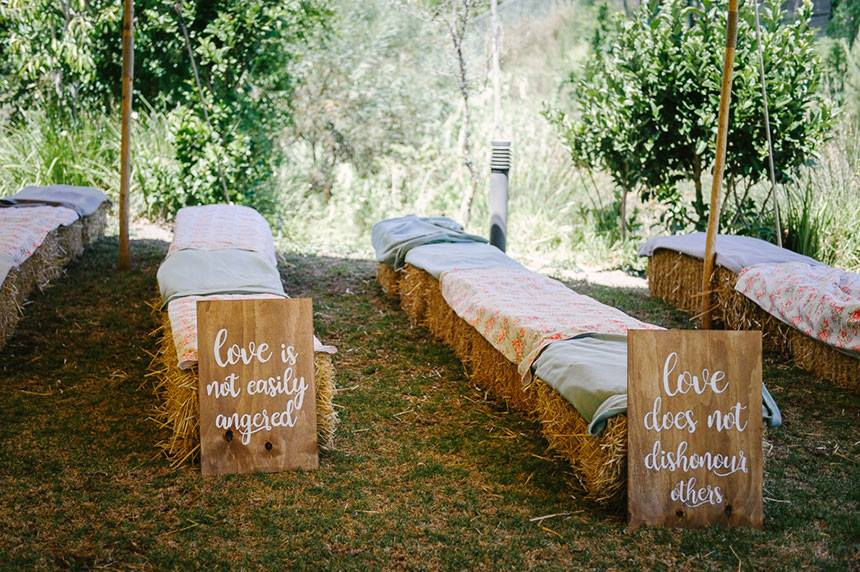My Pretty Vintage Haybale And Signs