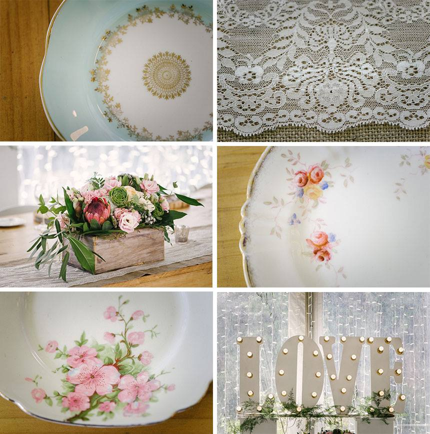 My Pretty Vintage Wedding Dining Accessories