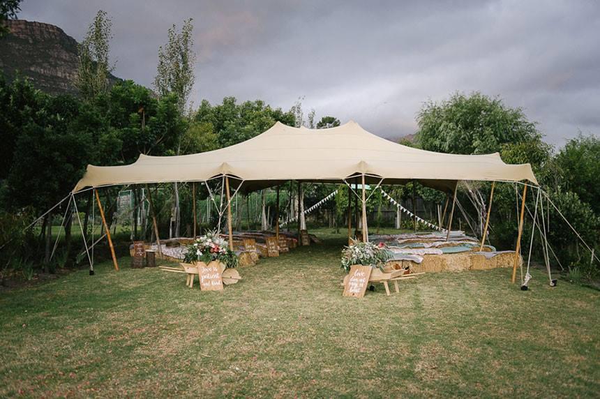 My Pretty Vintage Wedding Reception Tent Outdoor