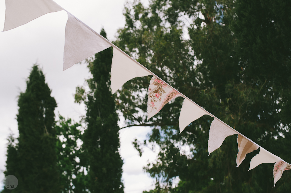 Outdoor Bunting For Wedding