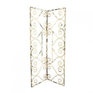 Peg Board Metal Filigree Large Double
