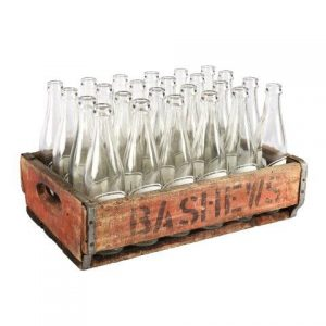 Prop Bashew Crate with  Bottles