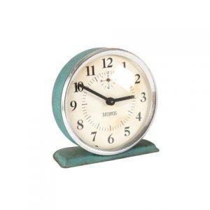 Prop Clock Blue Sea Grass