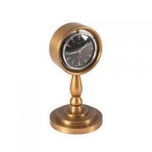 Prop Clock Brass Starling