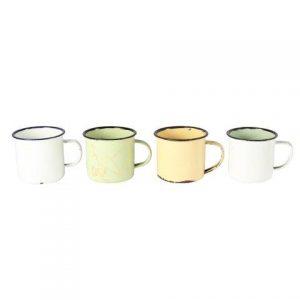 Prop Enamel Cups White