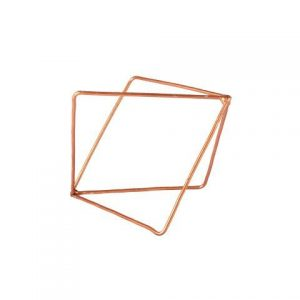 Prop Geometric Copper Shapes Small