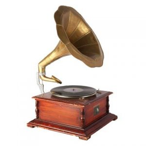 Prop Gramophone Large