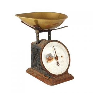 Prop Scales Black Rusted Single