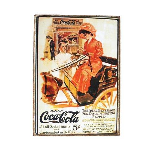 Prop Sign Coke a Cola Lady