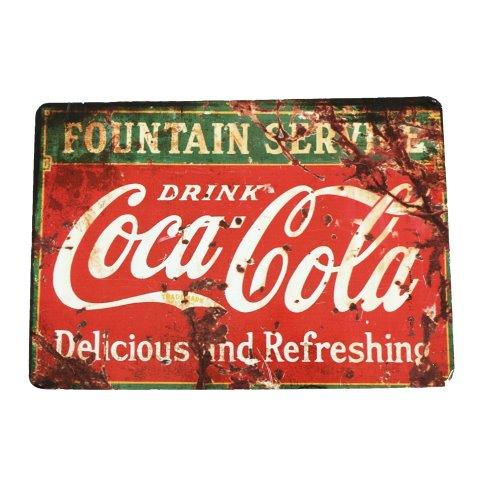 Prop Sign Coke a Cola Red