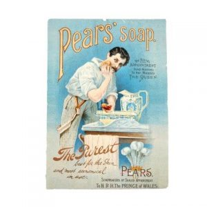 Prop Sign Pears Soap