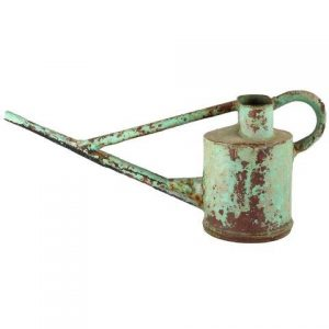 Prop Watering Can Green Long Spout