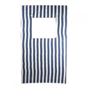 Props Photo Wall Blue White Stripe