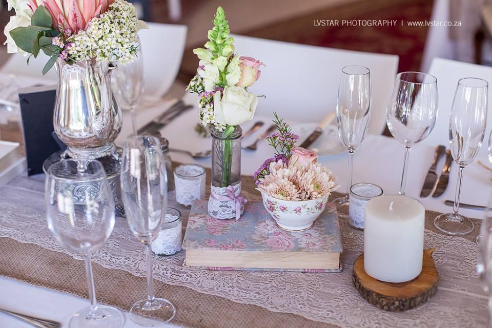 Reception Table Settings Weddings Romantique