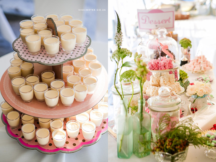 Shots and Candies At Your Wedding