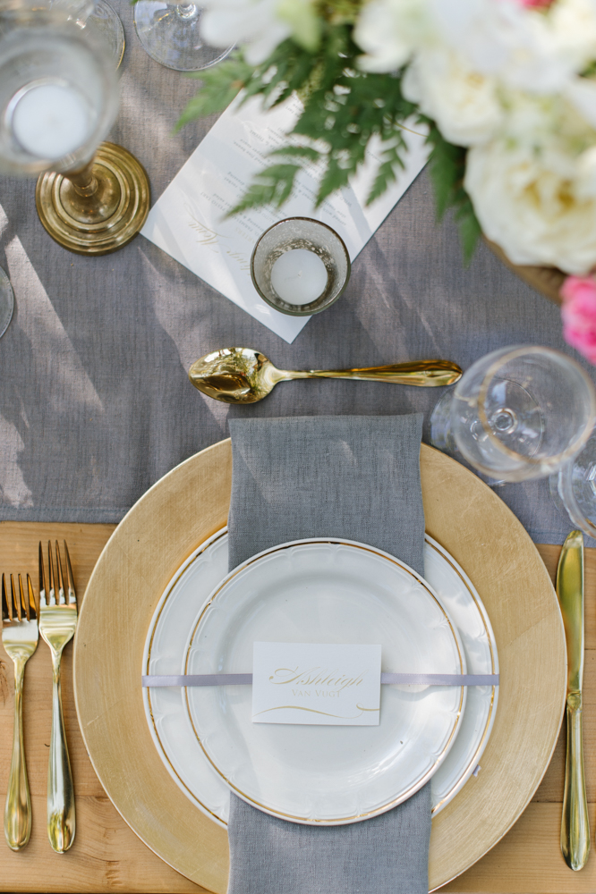 Sophisticated Wedding Table Settings