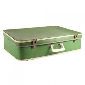 Suitcase Ethel Green Mediumx