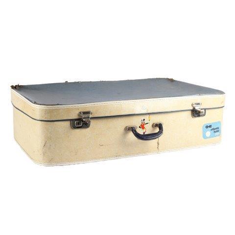 Suitcase Mickey Cream and Blue Mediumx