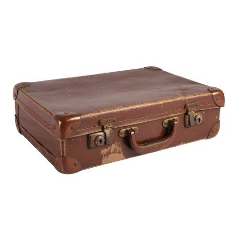 Suitcase Rose Brown Smallx