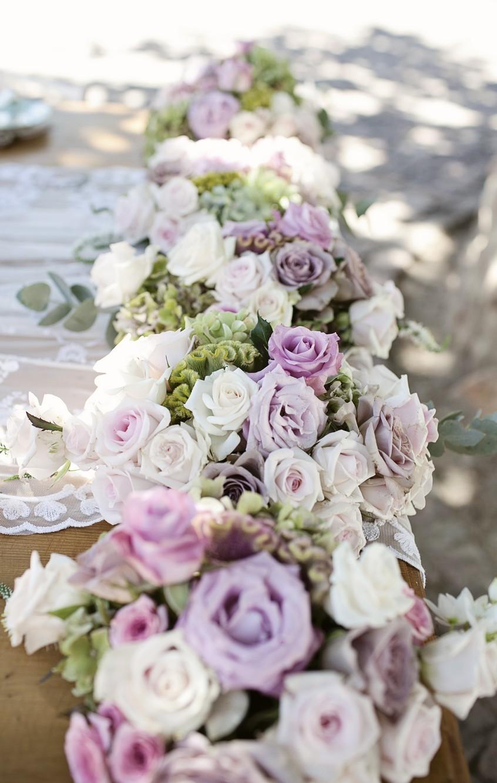 Table Length Floral Centerpieces