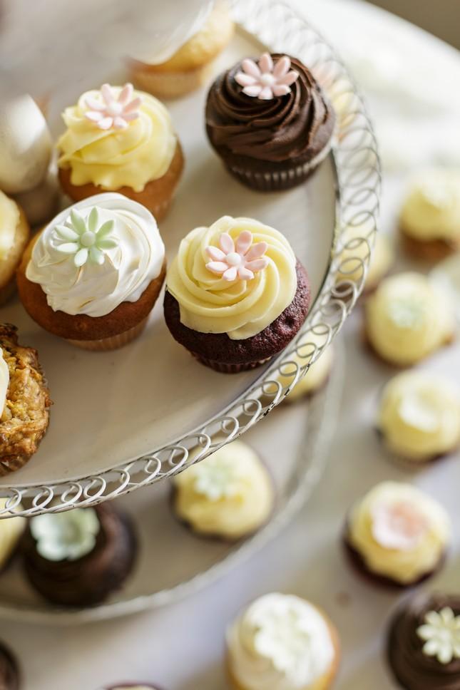 Tea Mini Cupcakes