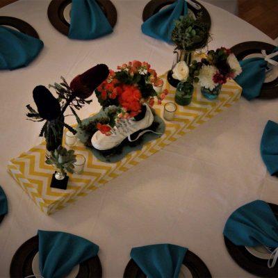 Tekkie Flower Arrangement  scaled
