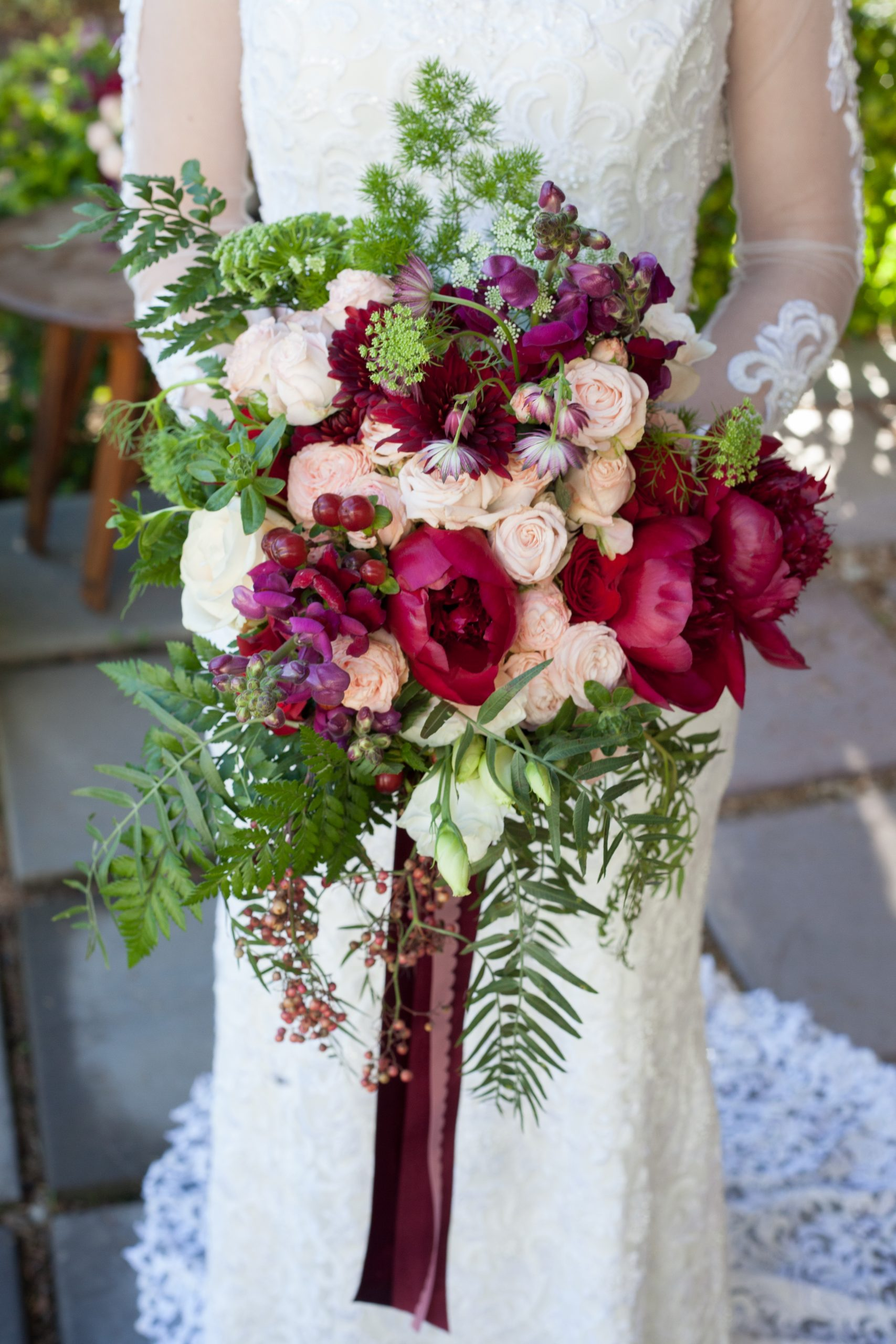 Timeles Bridal Bouquet scaled